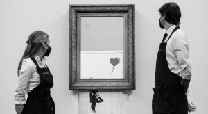 Banksy, Girl With Balloon, art