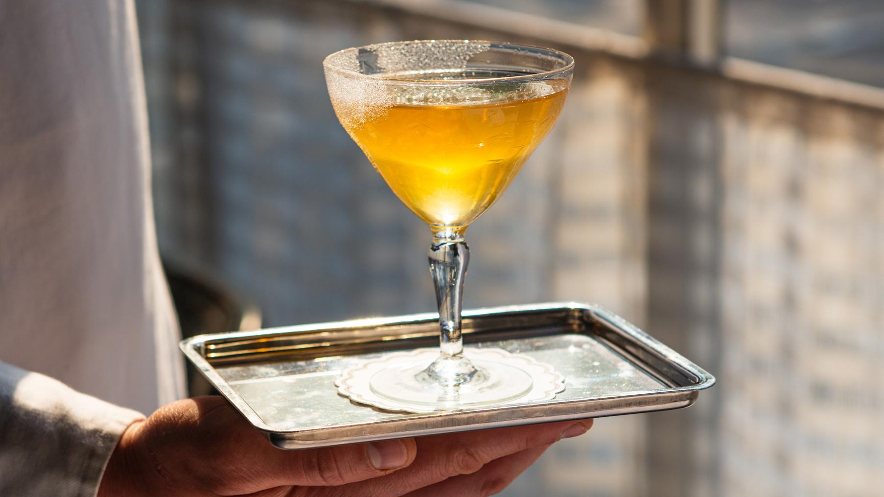 Gimlet, Cavendish House, cocktail